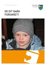 ER DIT BARN FORSIKRET? - Skolen på Fjorden