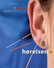 Hørelsen