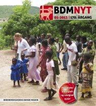 nr. 1/2013 - Brødremenighedens Danske Mission
