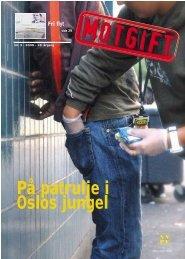 På patrulje i Oslos jungel - Norsk Narkotikapolitiforening