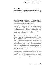 Kapitel 6 Den markeds- og strukturmæssige udvikling