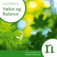 Regional Erhvervsudviklingsstrategi 2010-2014 - Region Nordjylland