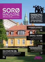 Download lokalbrochuren 2013 - Sorø Turistbureau