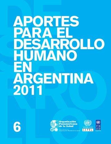 Aportes para el desarrollo humano en Argentina 2011