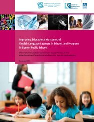 Full Report - Center for Collaborative Education