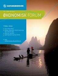 Oko.forum nr 3-06 - Samfunnsøkonomene