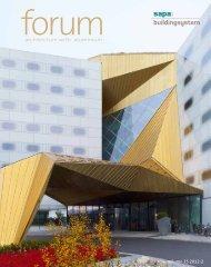 architecture with aluminium - Sapa Group