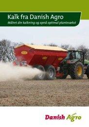 Hent vores brochure med gode råd om brug af kalk. - Danish Agro