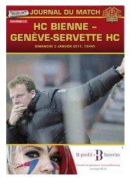 HC BIENNE – GENèVE-SERVETTE HC