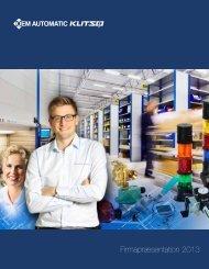 Firmapræsentation 2013 - OEM International AB