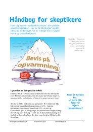 Håndbog for skeptikere