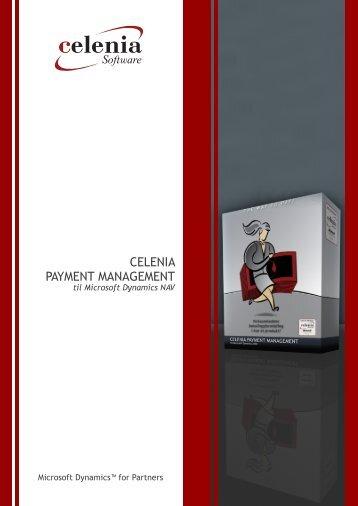 CELENIA PAYMENT MANAGEMENT - Capto