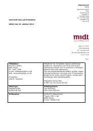 Tilsynsrapport 10. oktober 2012 - Region Midtjylland