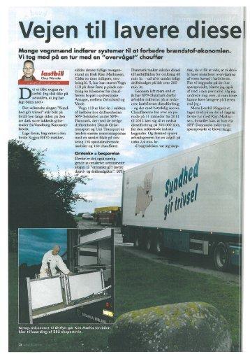 Vejen til lavere dieselforbrug - Vehco
