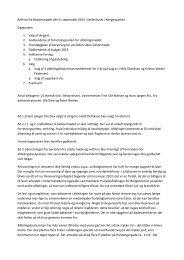 Referat fra Beboermødet den 6 - Boligkontoret Aarhus