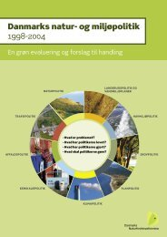 Natur- og miljøpolitik 1998-2004 - Odense Fjords Naturskole