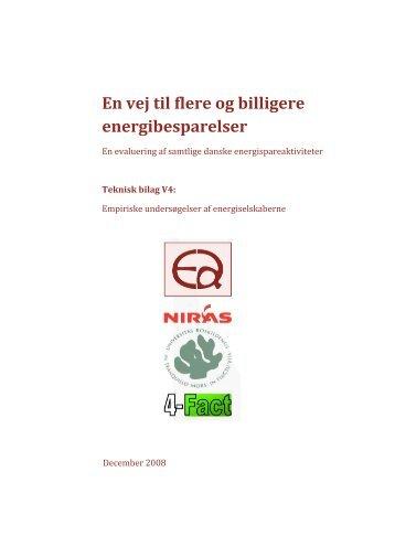 V4 – Empiriske undersøgelser af energiselskaberne