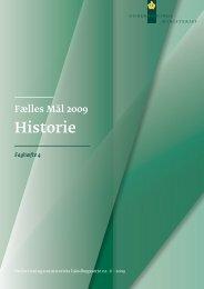 Historie 09 - Undervisningsministeriet