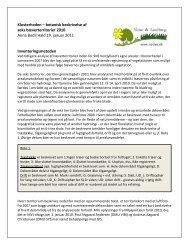 Se rapporten - Natur og landbrug
