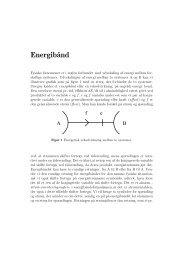 Definition af Energibånd med eksempler - dirac