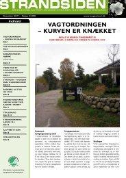 Strandsiden november 2011 - Solrød Strands Grundejerforening
