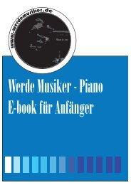 Werde Musiker E-Book für Anfänger
