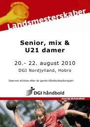 Senior, mix & U21 damer - HOH 85