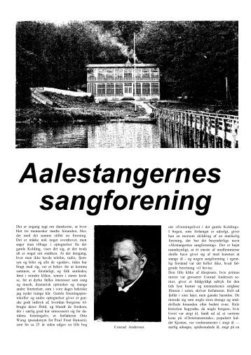 Aalestangernes sangforening