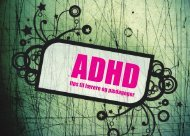 ADHD tips til lærere og pædagoger