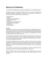 Åbent brev til folkekirken - Luthersk Mission