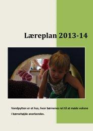 Læreplan 2013-14 - Vandpytten