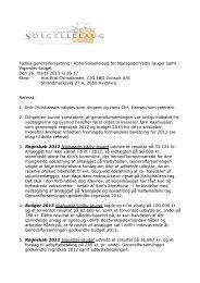 Referat af generalforsamling den 26. marts 2013