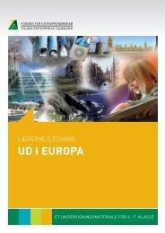 ud i europa - Fonden for Entreprenørskab