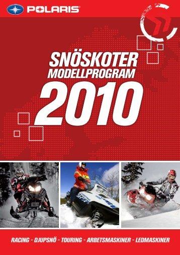 Snöskoter 2010 på svenska - Polaris Mora