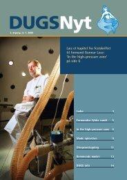 DUGSNyt nr. 1, 2008 - Dansk Urogynækologisk Selskab