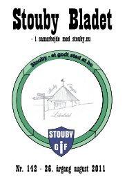 Nr. 142 - 26. årgang august 2011 - Stouby og Hornum Sogne