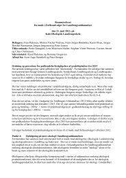 21. juni 2012 - Velkommen til Jordbrugets Uddannelser
