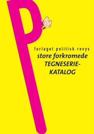 store forkromede TEGNESERIE- KATALOG