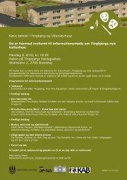 Fakta om Tingbjerg Kulturhus - Tingbjerg Forum
