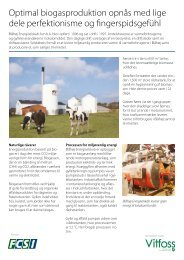Optimal biogasproduktion opnås med lige dele ... - PressWire
