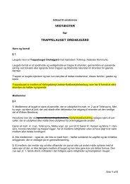 Omskrevne vedtægter, version 2 - Trappelaugets