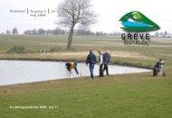 Klubblad I Årgang 3 I nr. 2 maj 2008 - Greve Golfklub