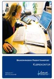 Brukerhåndbok NISSY, versjon 4.1 - Pasientreiser.no
