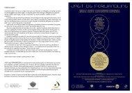Jagt og Forvandling Koncertprogram - Kuno Kjaerbye