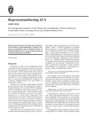 Representantforslag 43 S - Stortinget