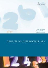 Skolen og den sociale arv - PISA-undersøgelse
