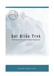 Det Blide Tryk januar 2010 - Foreningen af Kranio-Sakral Terapeuter