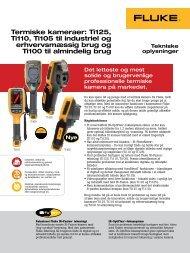 Termiske kameraer: Ti125, Ti110, Ti105 til industriel og ... - Farnell