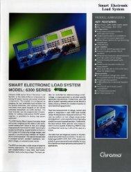 SMART ELECTRONIC Loan SYSTEM MODEL: 6300 SERIES