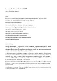 Årsberetning for Nyt Dansk Litteraturselskab 2010 Ved formand ...
